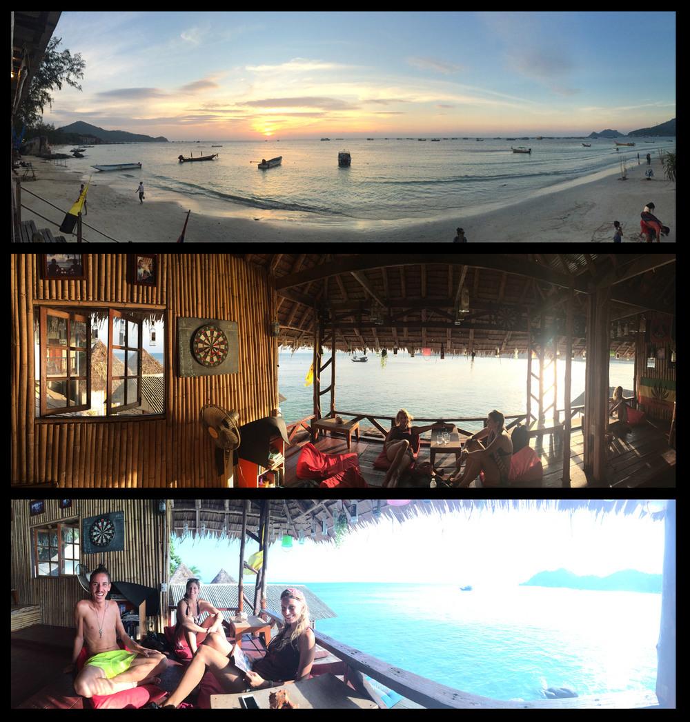 Shark Cove on Koh Tao.