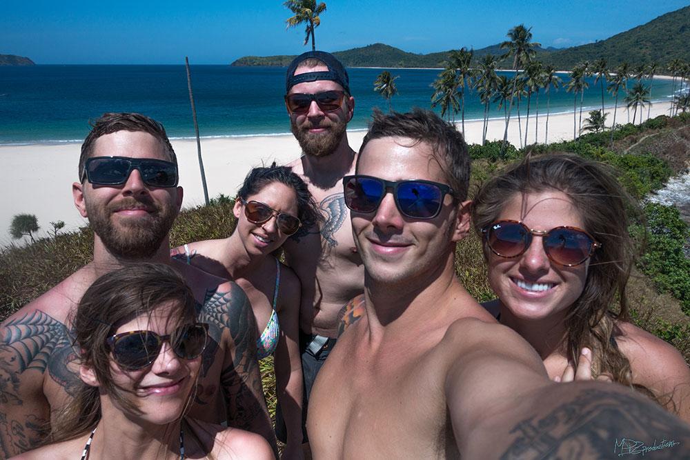 Group Shot- Nacpan Beach.