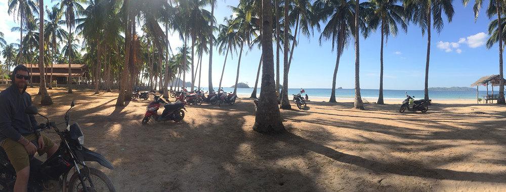 Nacpan Beach.