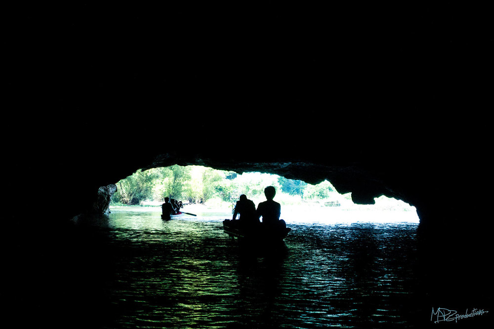 Water cave!