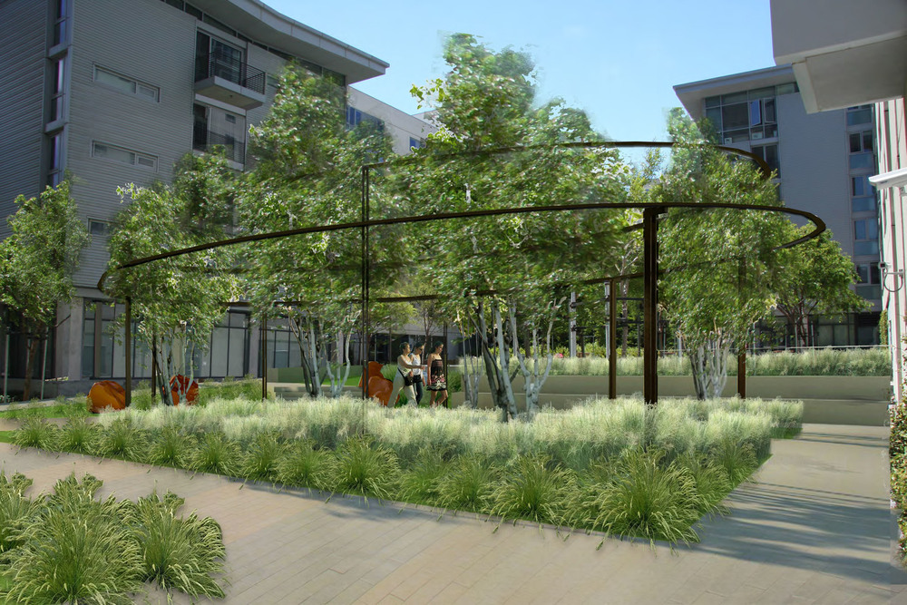 Mission Bay Campus Courtyard, San Francisco  Client: University of California
