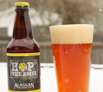 Review of Alaskan Brewing Co. Hopothermia Double IPA -