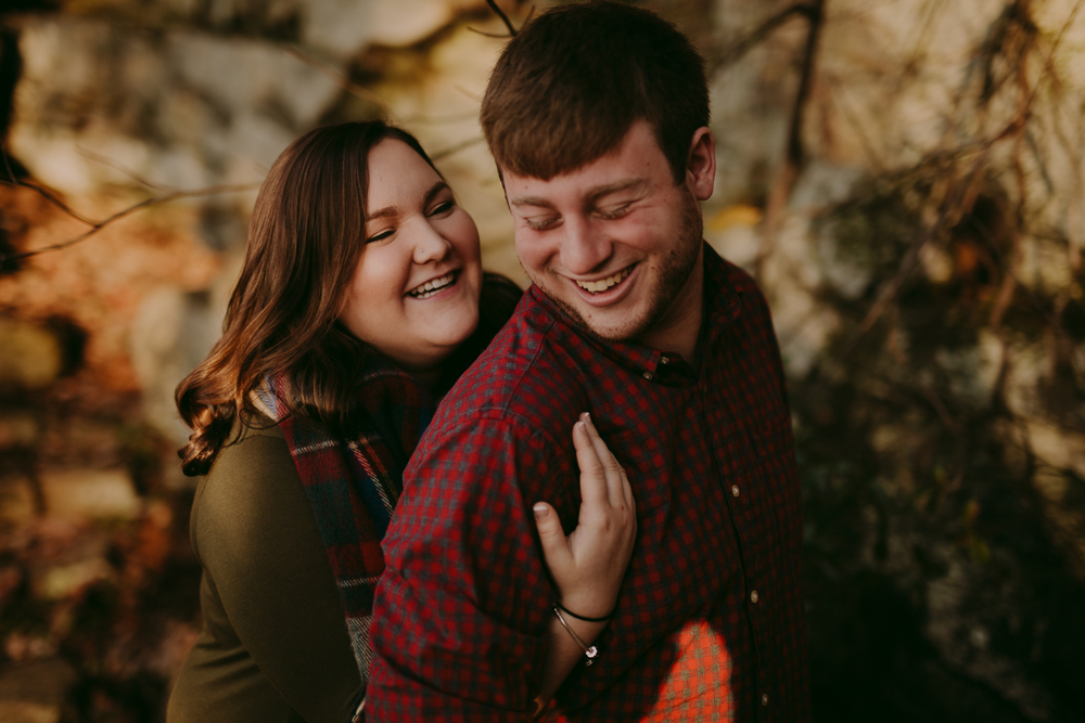 Sunset Rock Chattanooga Proposal Engagement Photos Photography Anthology (5 of 19).jpg