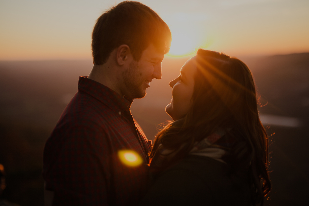 Sunset Rock Chattanooga Proposal Engagement Photos Photography Anthology (17 of 19).jpg