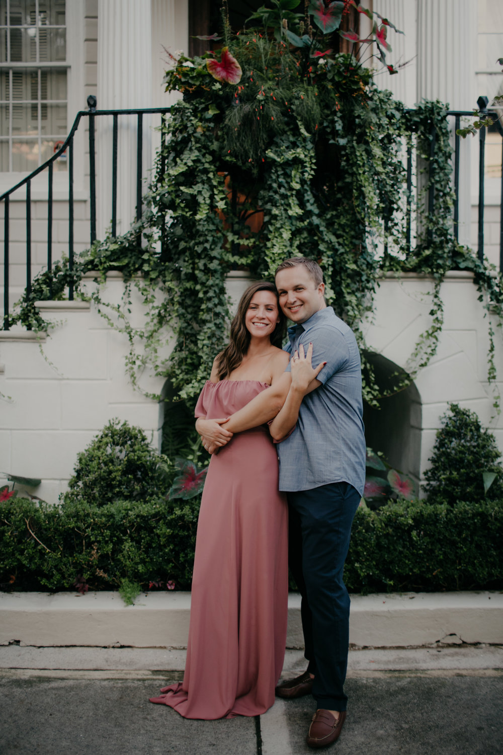 Photography Anthology - Downtown Charleston Engagement Session - The Battery - Historic Charleston White Point Gardens (7 of 17).jpg