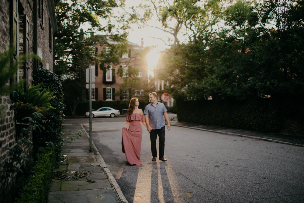 Photography Anthology - Downtown Charleston Engagement Session - The Battery - Historic Charleston White Point Gardens (11 of 17).jpg
