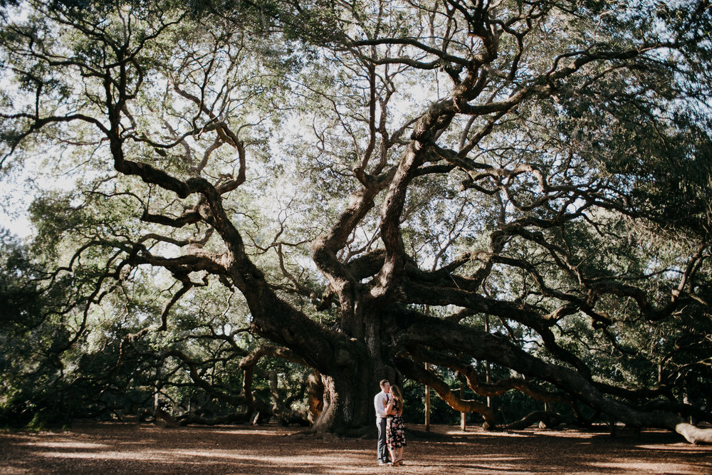 Photography Anthology - Angel Oak Engagement Session - Downtown Charleston Engagement Sessnion At Sunrise (3 of 6).jpg