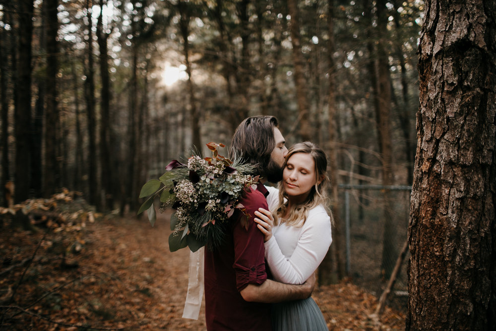 Photography Anthology - Asheville Elopement Engagement Photos In The Mountains Fall Waterfall (4 of 33).jpg
