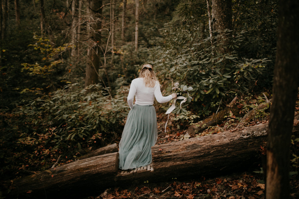 Photography Anthology - Asheville Elopement Engagement Photos In The Mountains Fall Waterfall (9 of 33).jpg