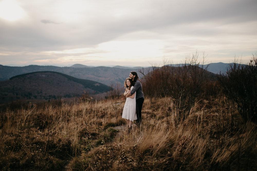 Photography Anthology - Black Balsam Knob Asheville Blue Ridge Mountains Smoky Mountains Engagement Photos (30 of 49).jpg