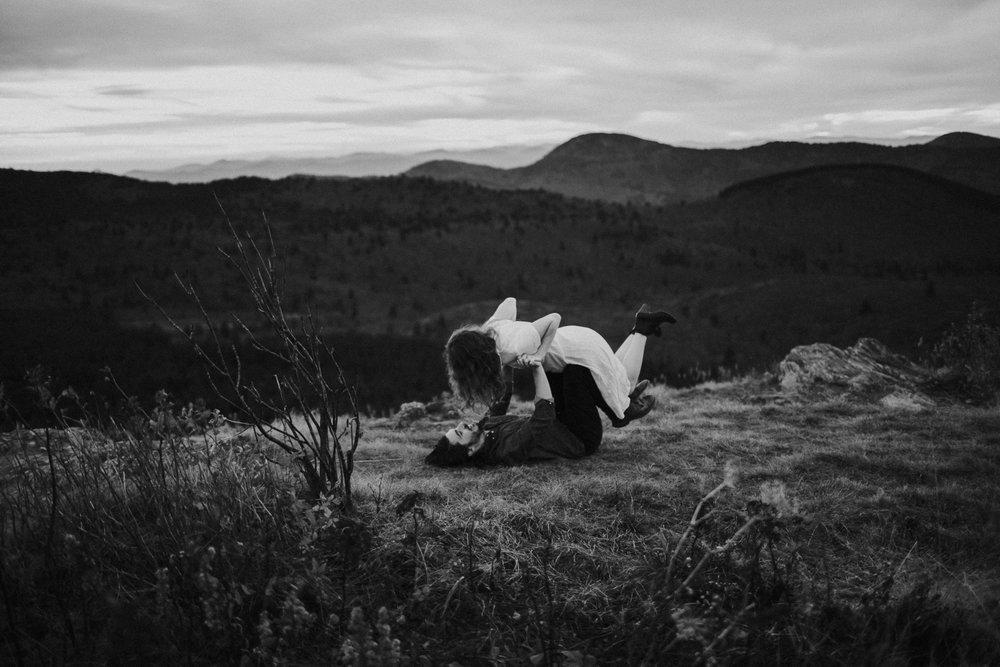 Photography Anthology - Black Balsam Knob Asheville Blue Ridge Mountains Smoky Mountains Engagement Photos (39 of 49).jpg