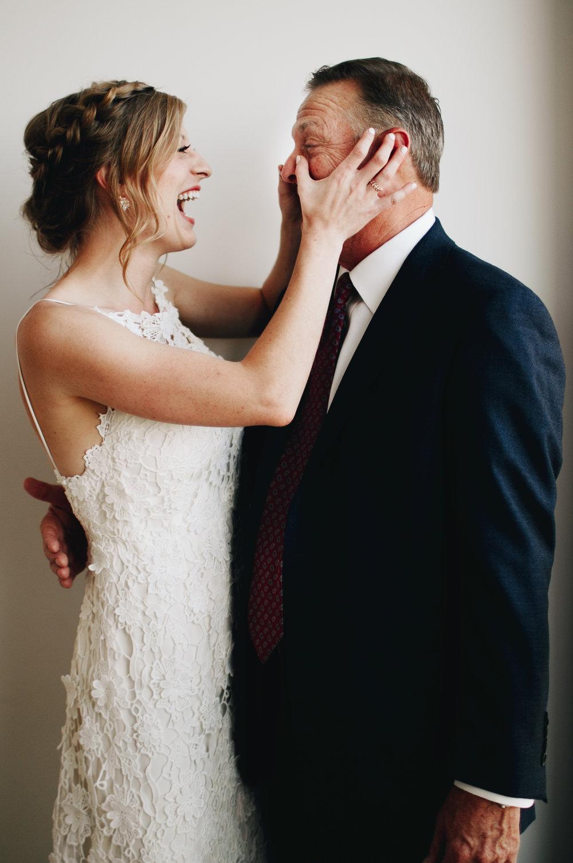 Crying Wedding Father Daughter Documentary Moment Wedding Photography Nashville Photography Anthology