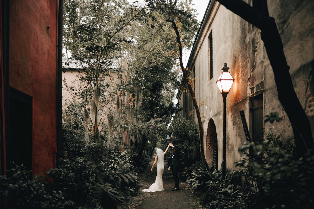 Wedding Bride and Groom Dancing Charleston Wedding Photographer Photography Anthology