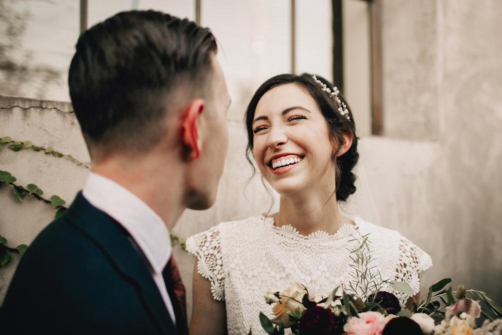 Excited Bride and Groom Wedding Photos Summerour Studio Atlanta Photography Anthology Wedding