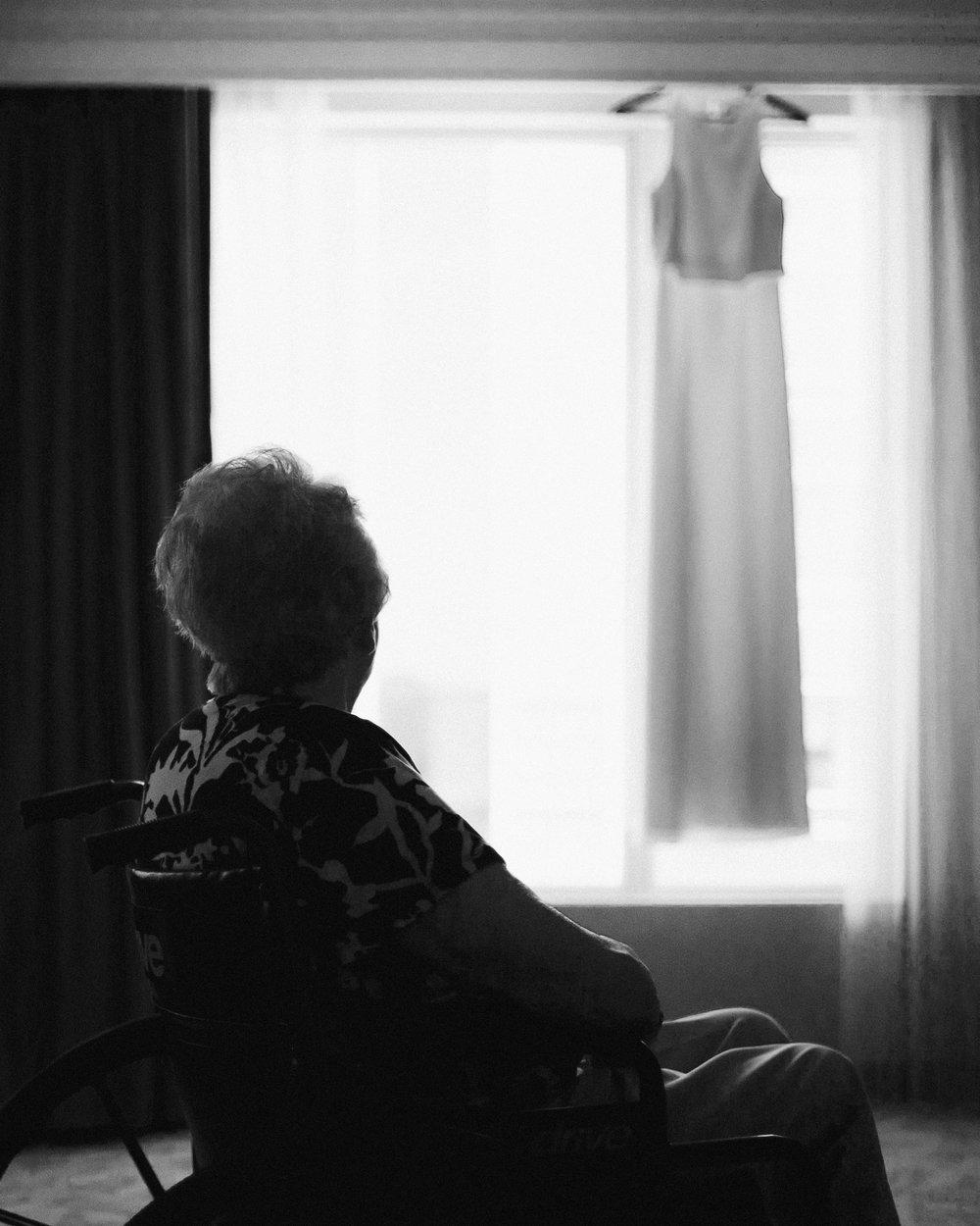 Grandmother Wedding Dress Nostalgic Moment Wedding Photographer Photography Anthology