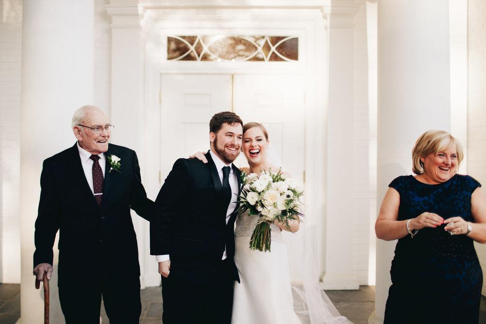 Atlanta Church Wedding Excited Bride Groom Photos Photography Anthology
