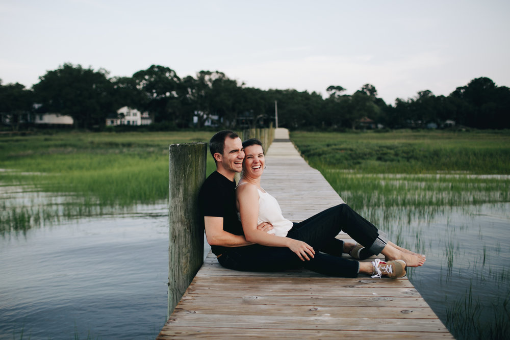 Photography Anthology - Charleston MArsh Engagement Sesison On Dock (31 of 47).jpg