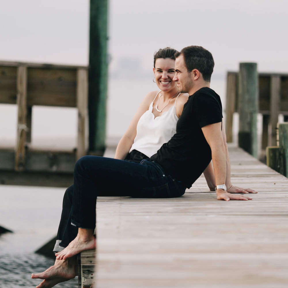 Photography Anthology - Charleston MArsh Engagement Sesison On Dock (35 of 47).jpg