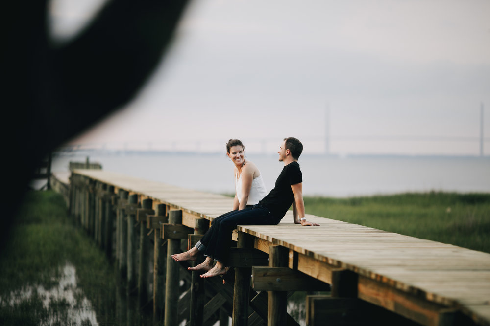 Photography Anthology - Charleston MArsh Engagement Sesison On Dock (36 of 47).jpg