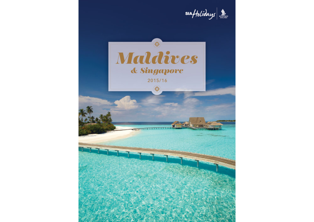 Maldives Brochure Cover