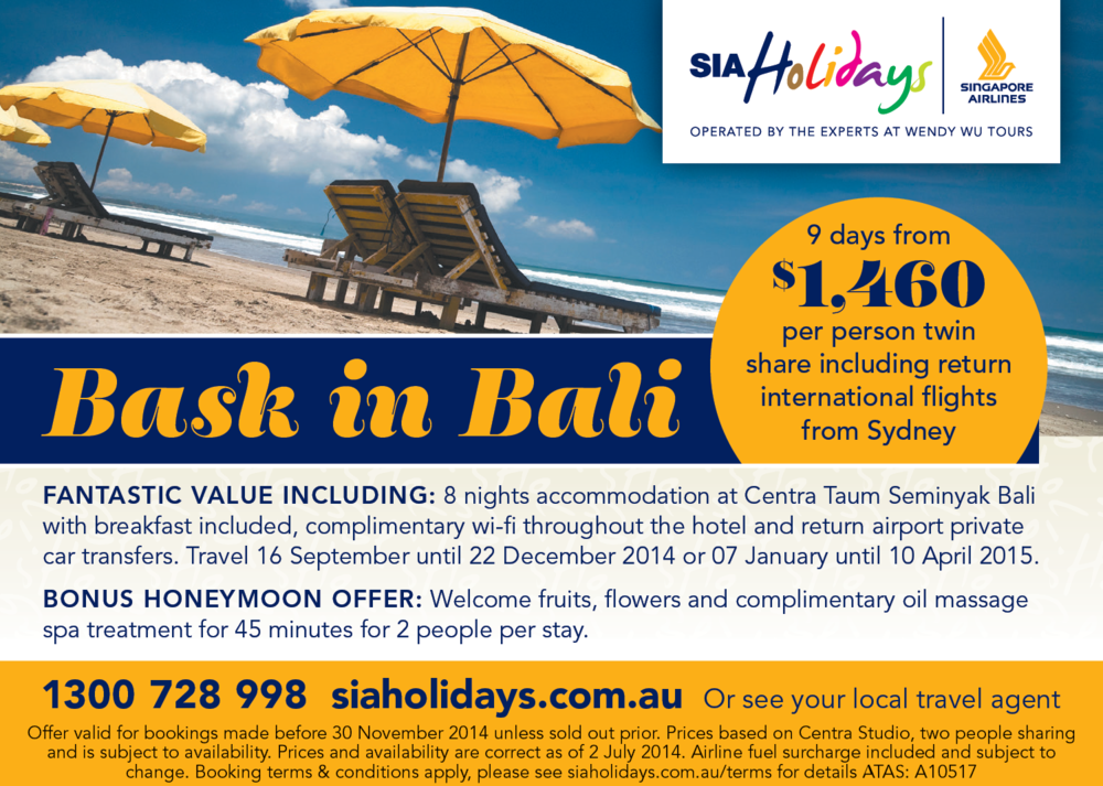 Advertising: Sun Herald Traveller
