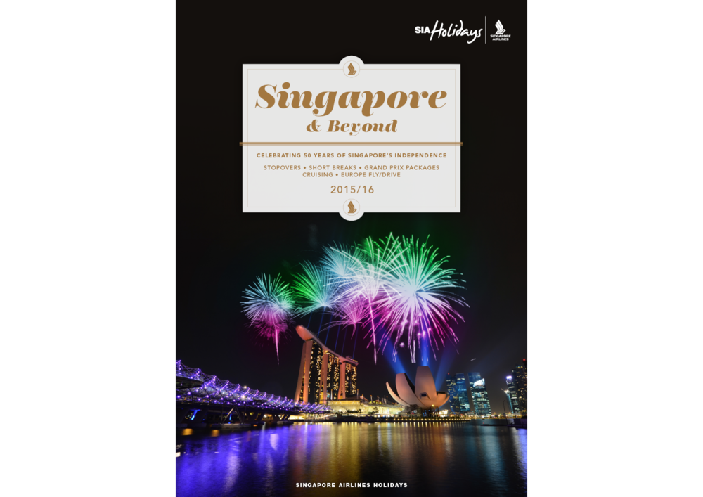 Singapore & Beyond: brochure cover