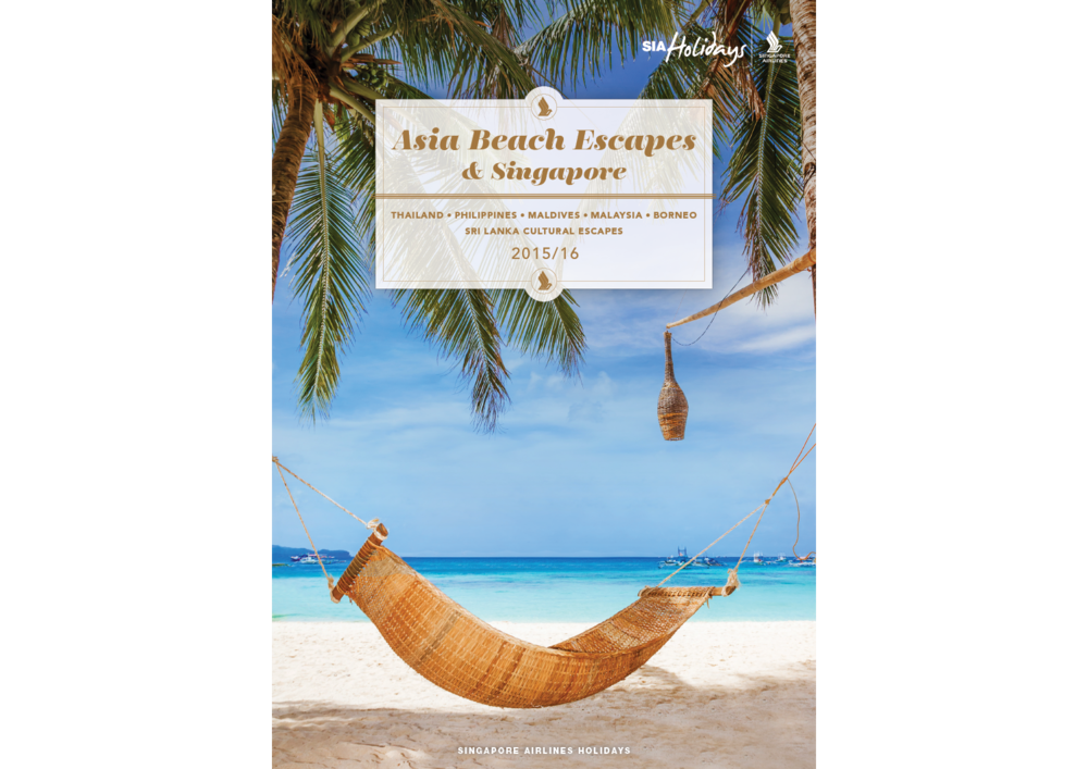Asia Beach Escapes: brochure cover