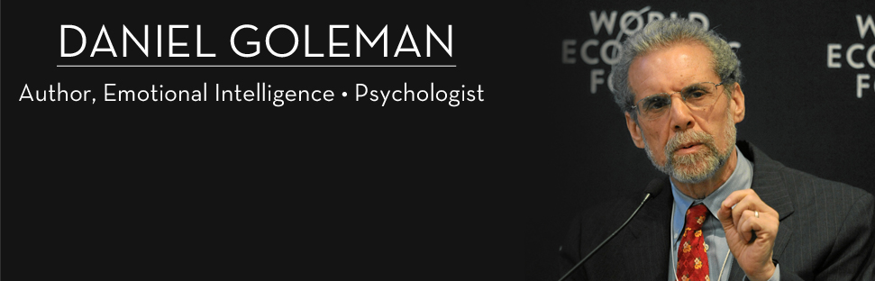 author daniel goleman