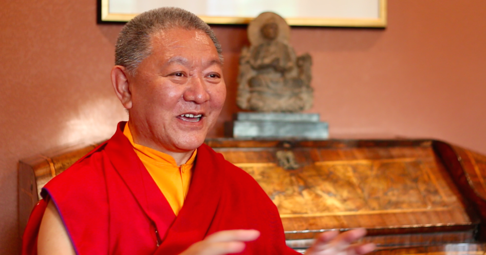 Ringu Tulku Rinpoche Teaching