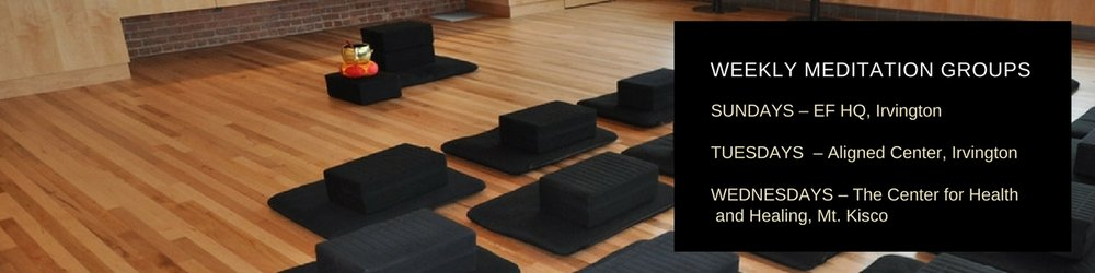Weekly Meditation Groups in Westchester