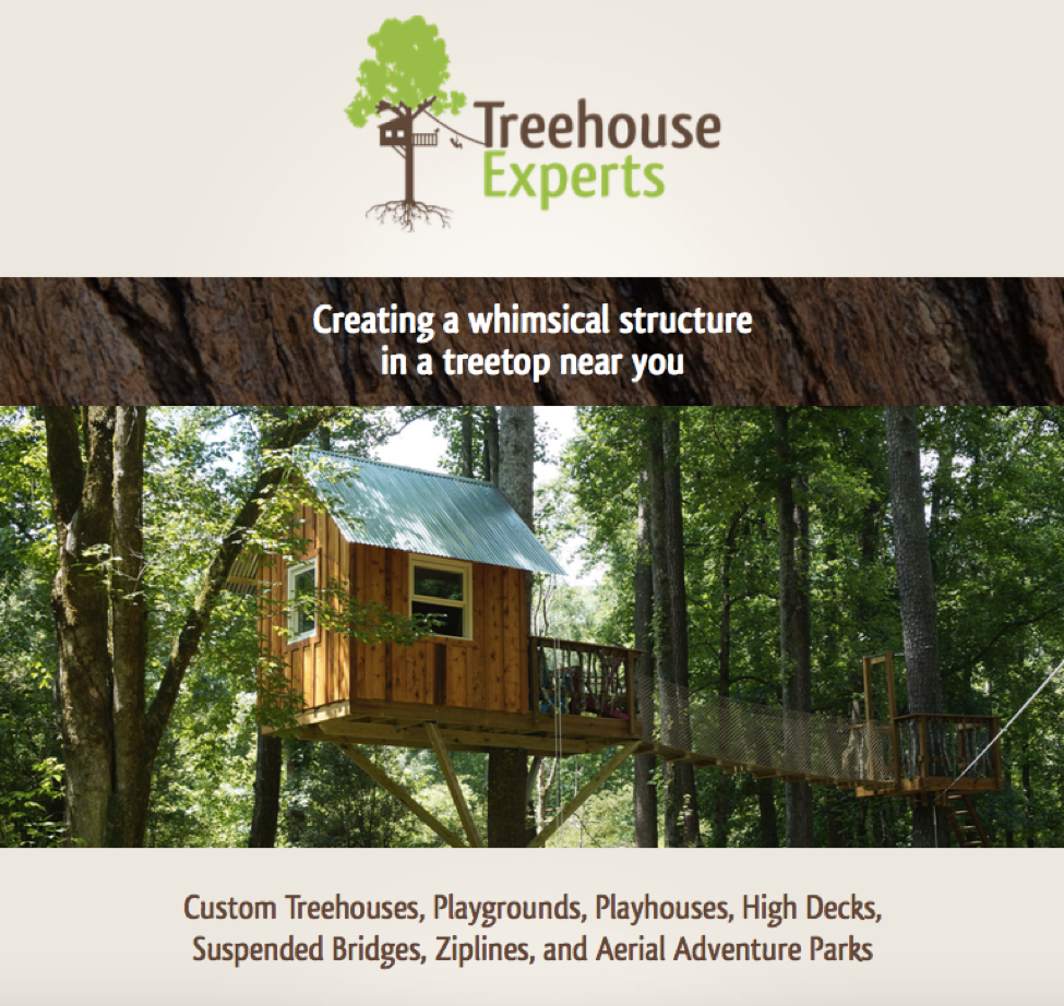 TREEHOUSES BROCHURE - All prices will depend on the location, access to the property, number of trees etc.