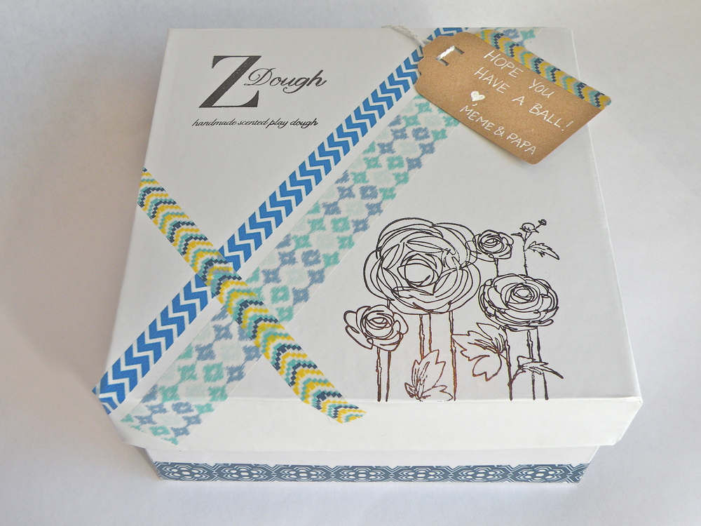 "Gift wrap: ZDough's take on ""brown paper packages tied up with string."" Definitely one of our favorite things!"