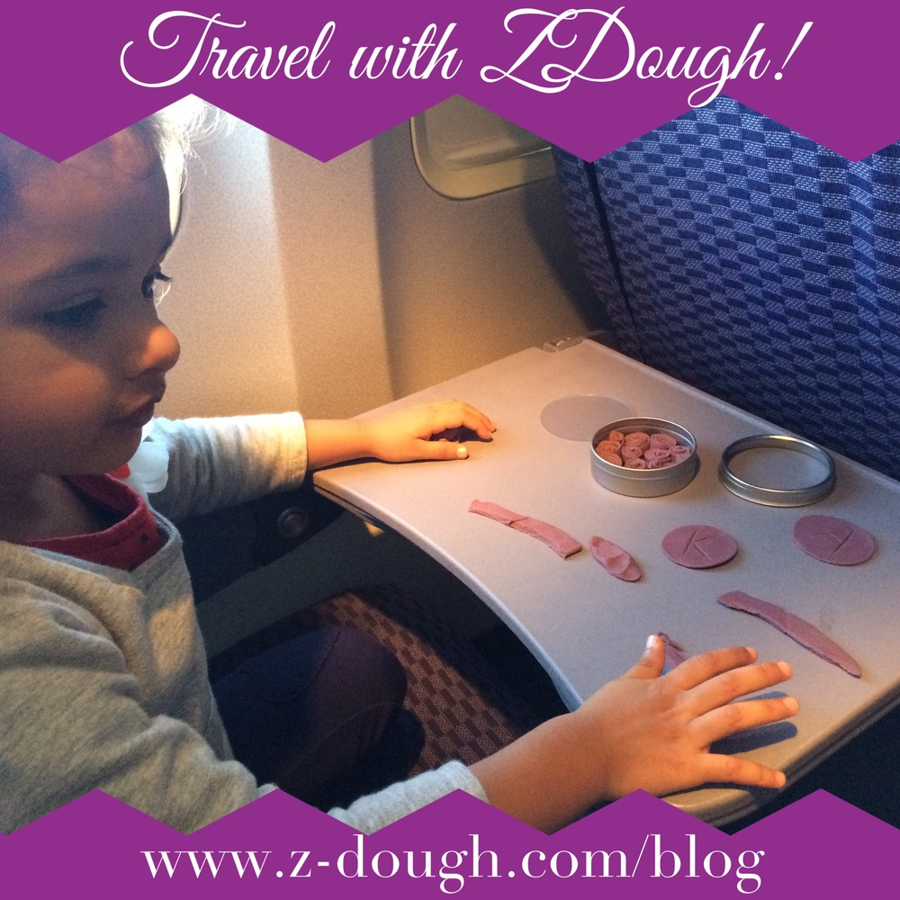 Little Z uses her Lavender ZDough on a cross-country flight.
