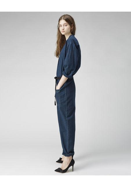 etoile isabel marrant | tadia denim jumpsuit | spring 14 | treschicnow.com
