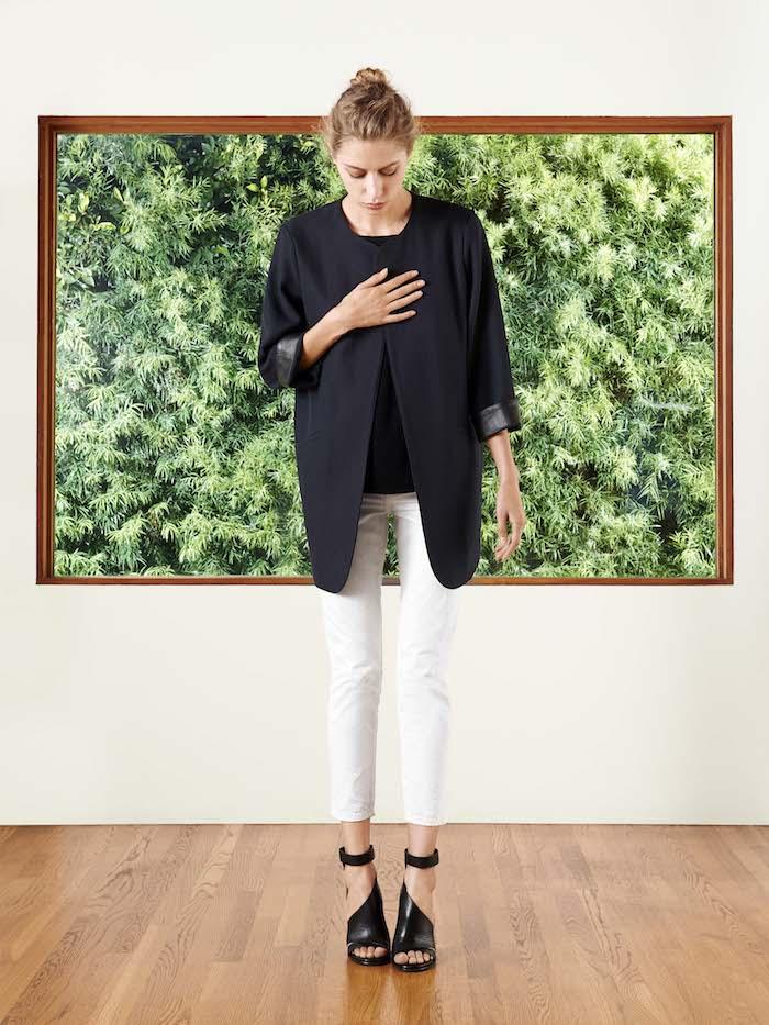 Crippen Brenner Jacket + Iris Top + Little Dude Jean | #SP14 TresChicNow.com