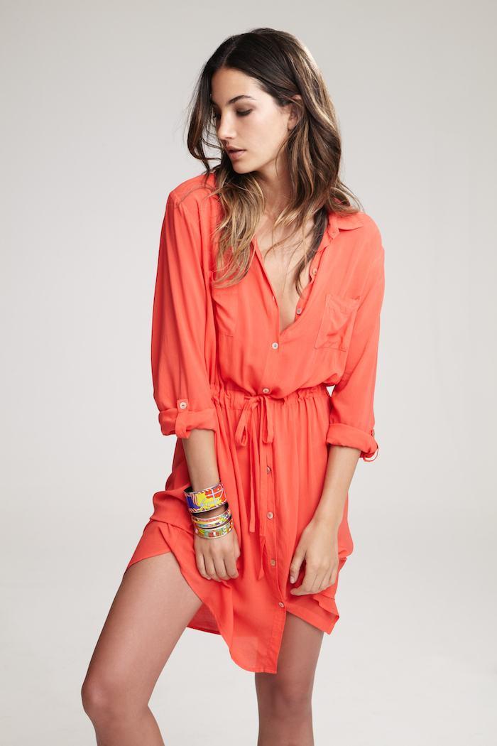 lily aldridge for velvet | treschicnow.com | spring 2014 | #fashion #lilyaldridge