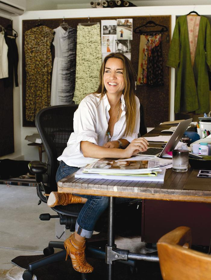 Susie Crippen via TresChicNow.com | #fashion #work #designer