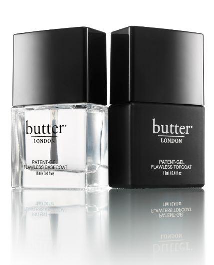 Butter London Gel Top + Tails #nails | TresChicNow.com