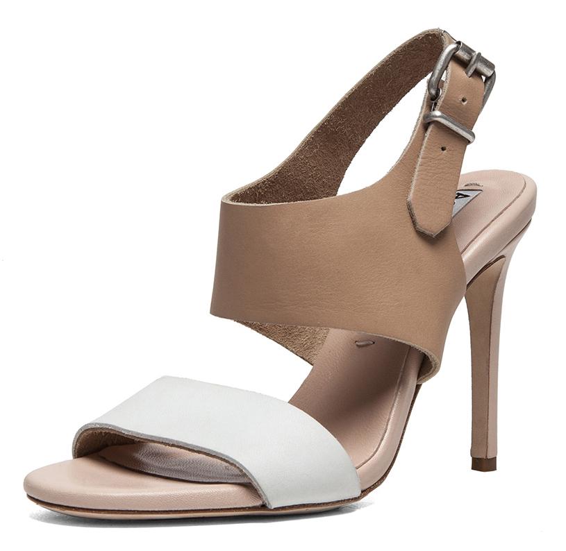 Acne Studios Tillie Sandals | nude + white stiletto | treschicnow.com #chic #shoes