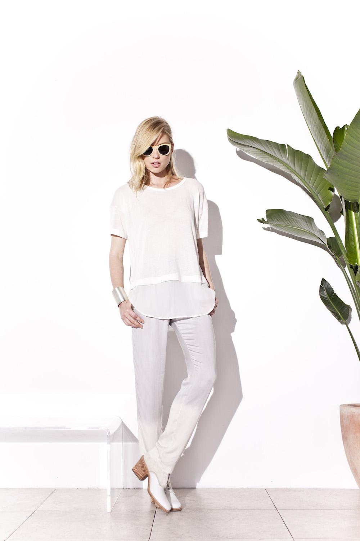 Kain Label   designer q+a #spring 2014   treschicnow.com #fashion #lookbook #white #chic