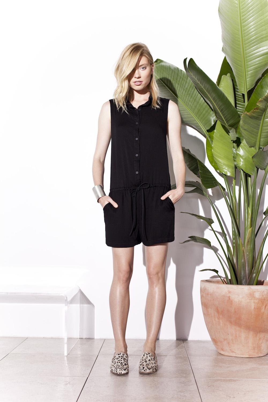 Kain Label   designer q+a #spring 2014   treschicnow.com #fashion #lookbook #black #jumpsuit #playsuit
