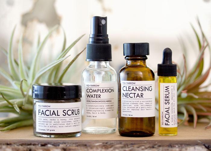 FIG+YARROW #apothecary #beauty cabinet review via TresChicNow.com #face #facial #organic #handmade