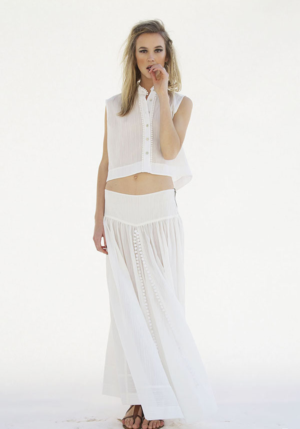 #heidimerrick #summer TresChicNow.com all white outfit