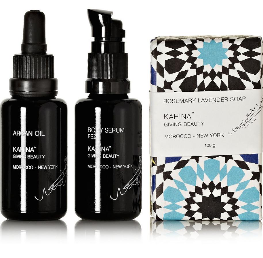 kahina glow box   treschicnow.com #beauty cabinet #netaporter #netabeauty