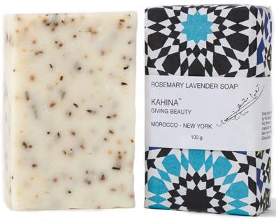kahina lavender argan soap   treschicnow.com #beauty cabinet