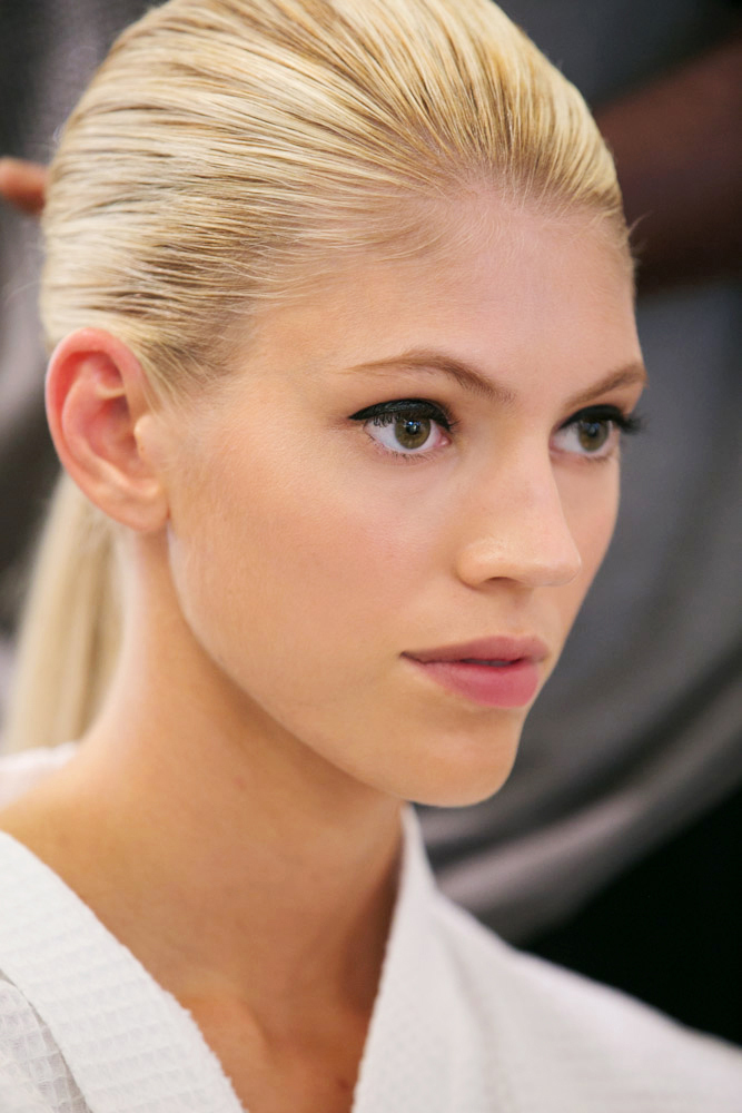 Backstage at Oscar de la Renta 4 #ss15 #nyfw Hourglass Cosmetics #beauty #fashion photographer Thaddeus Rombauer