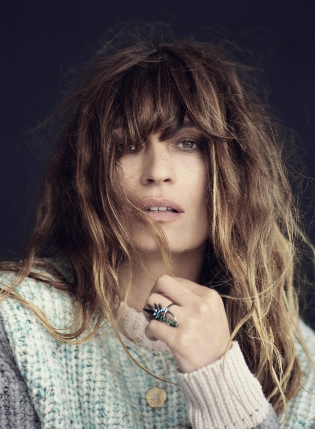Caroline de Maigret; mother, model, muse and professional French enigma | #howtobeparisian | matches fashion editorial and video via treschicnow.com