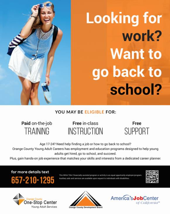 orange county adult education classes