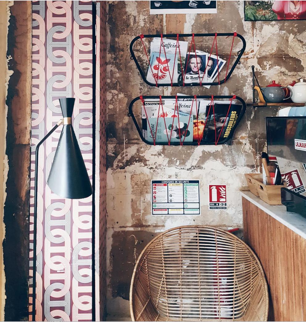 Cafe Loustic in Paris