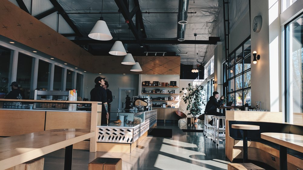Olympia Coffee Roasters, downtown location